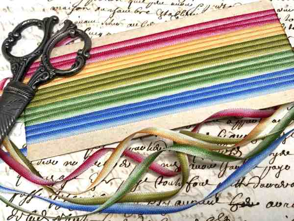 Mixed set ombré ribbons