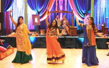 Eastern Dancing for Wedding.