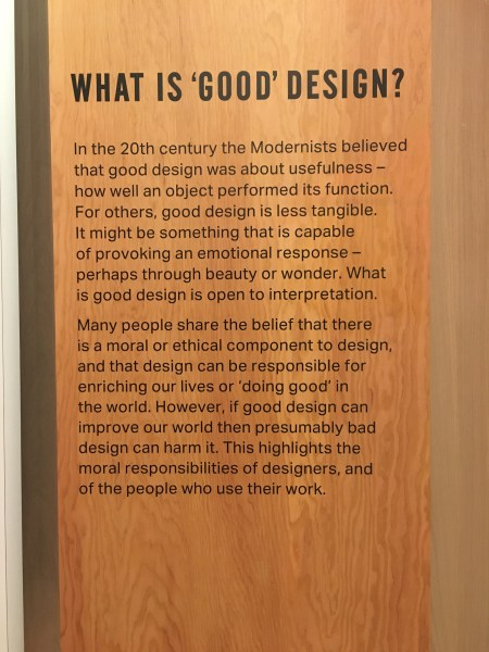 Finding inspiration: Design Museum 5