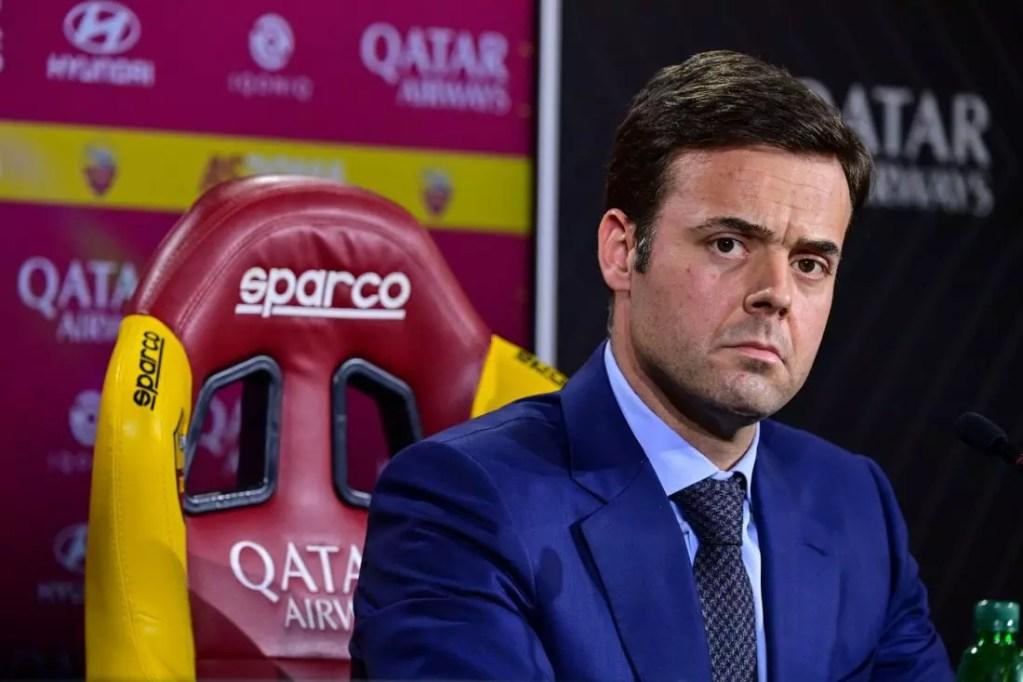"""Roma, Tiago Pinto a Mourinho: """"La millesima? Ha deciso il Dio del calcio"""""""