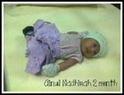 dhirah 2 month