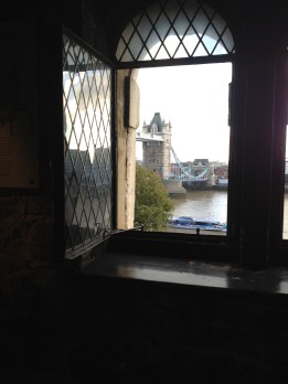 A view from The Tower of London!