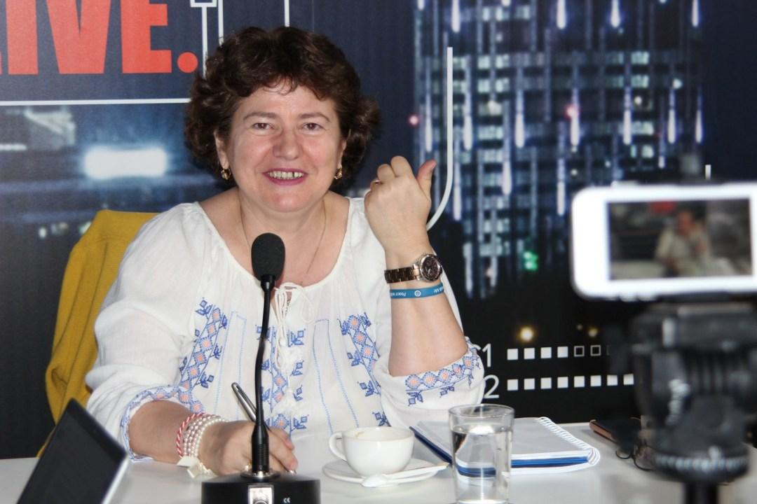 Sorina Bradea vorbește despre antreprenoriat la Ora de HR
