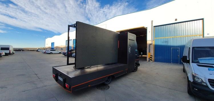 Pantalla Led truck