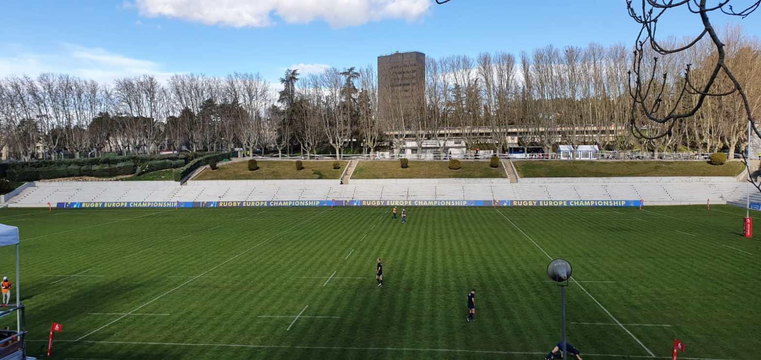 Pantalla Perimetral Rugby