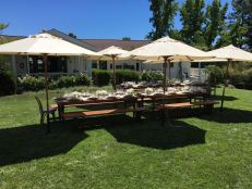 Garden Picnic at the Winery Estate