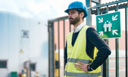 Worker Safety - Romware Alert - smart muster points