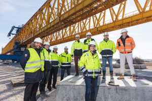 Romware at Roskilde BESIX construction yard Safety technology