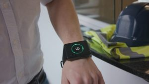 Romware worker safety - active wear detection