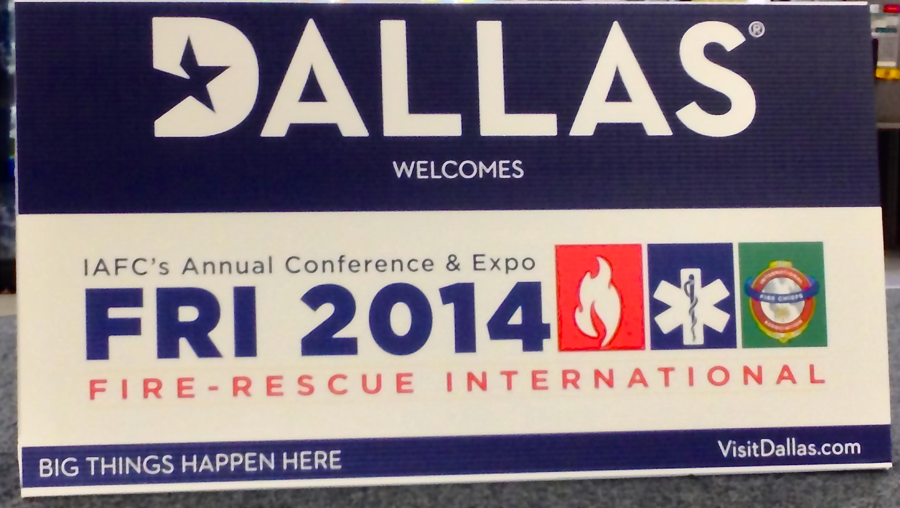 Fire Rescue International 2014