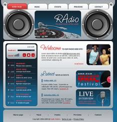 radio online template6