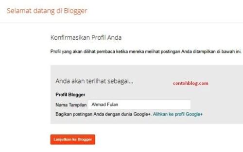 Selamat datang di Blogger