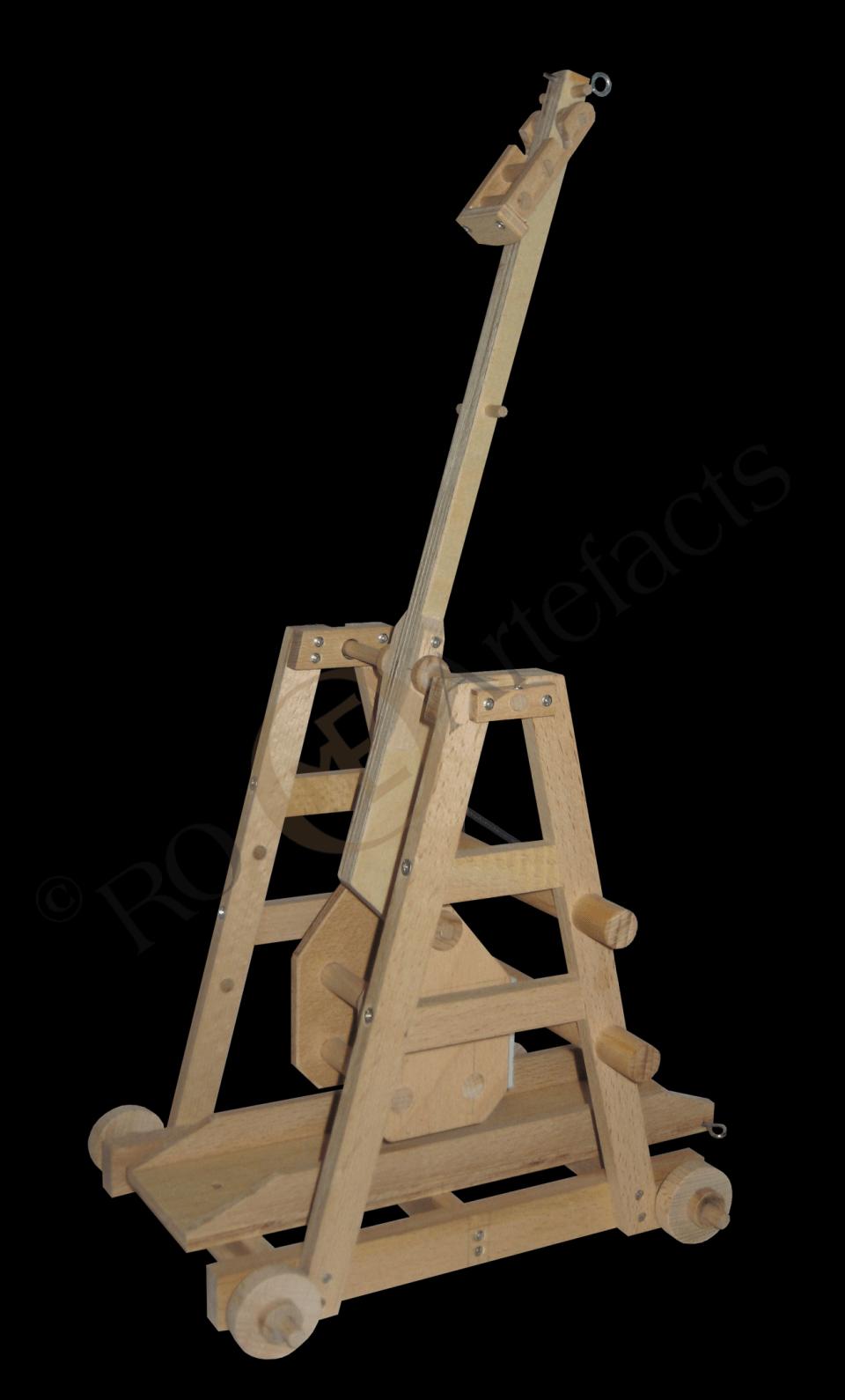 Katapult Trebuchet Modell 001