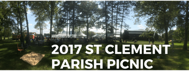 2017 Parish Picnic Recap