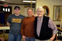 Tom, Mark and Jim Burns