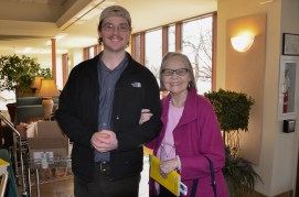 Liam O'Curran and Miss Margret