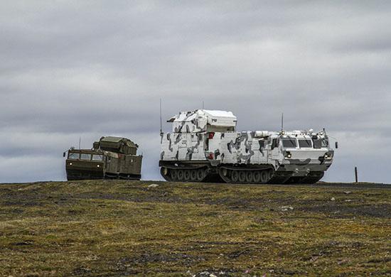 Tor-M2DT air defense