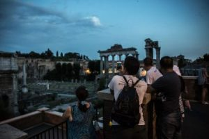 rome night tour by rome's ultimate