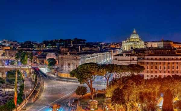 Ночные достопримечательности Рима: фото с названиями - Рим ТМ