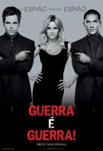 "Poster for the movie ""Guerra é Guerra"""