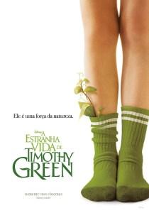 "Poster for the movie ""A Estranha Vida de Timothy Green"""