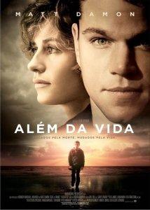 """Poster for the movie """"Além da Vida"""""""
