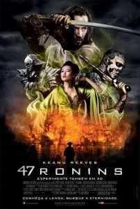 """Poster for the movie """"47 Ronins"""""""