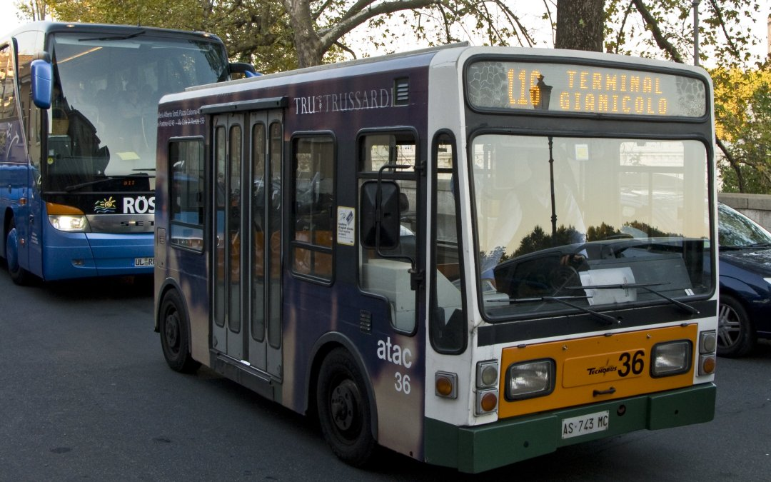 Avoid common problems with Rome's public transport