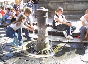 Why you never need to buy water in Rome