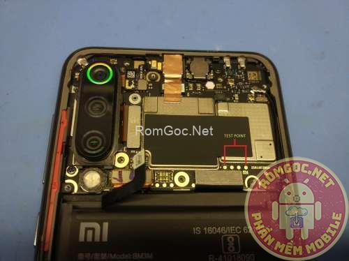 Testpoint Xiaomi Mi 9 SE Edl qualcomm 9008 / Unbrick - Romgoc