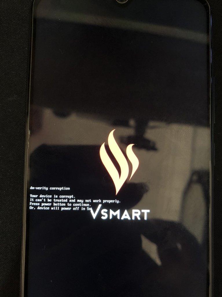 Fix lỗi Vsmart Star 5 dm-verity corrupt | V532A lỗi phần mềm