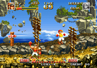 Top Hunter RoddyampCathy NGM 046 ROM Download For MAME