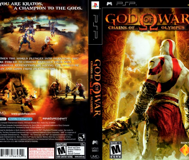 God Of War Chains Of Olympus Upsn