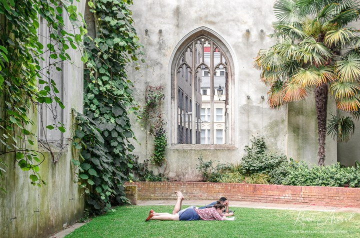 St Dunstan in the East, a place to read a book