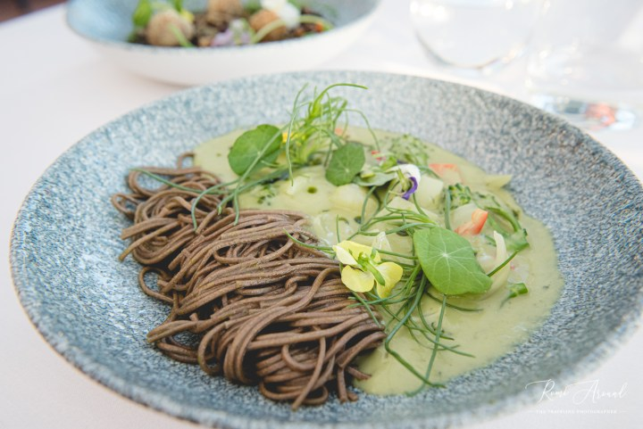 Thai Green Curry with Soba Noodles