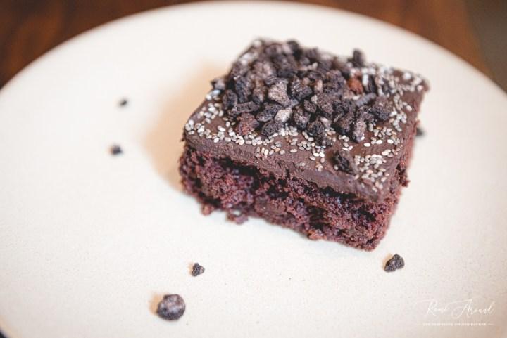 Vegan Junkies Death by Chocolate dessert