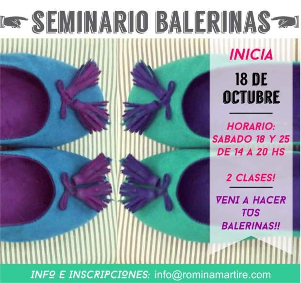 seminario balerinas octubre