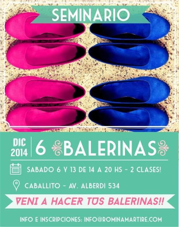 Seminario Balerinas ultimo 2014