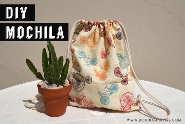 diy mochila