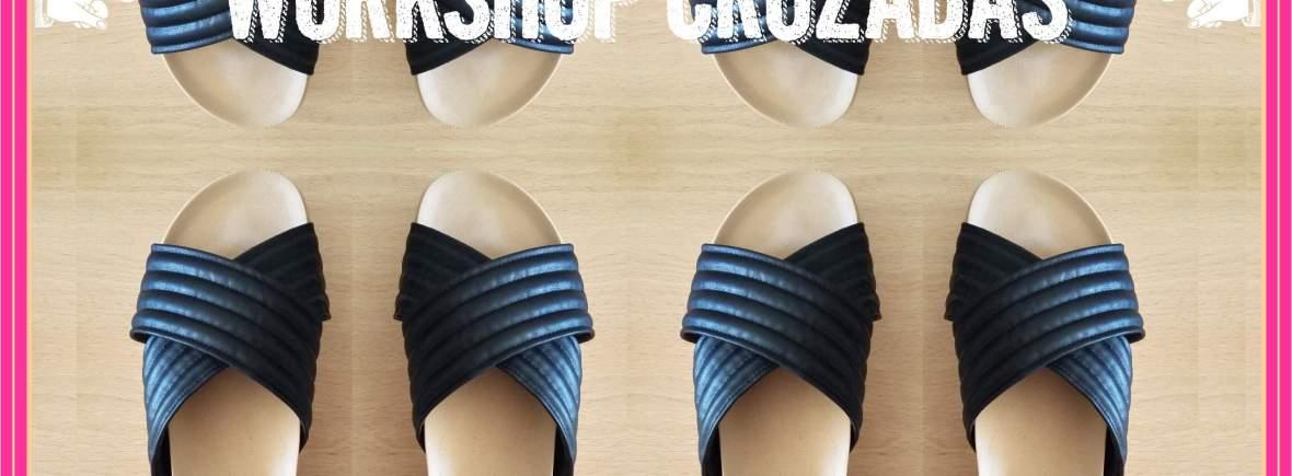 sandalias cruzadas