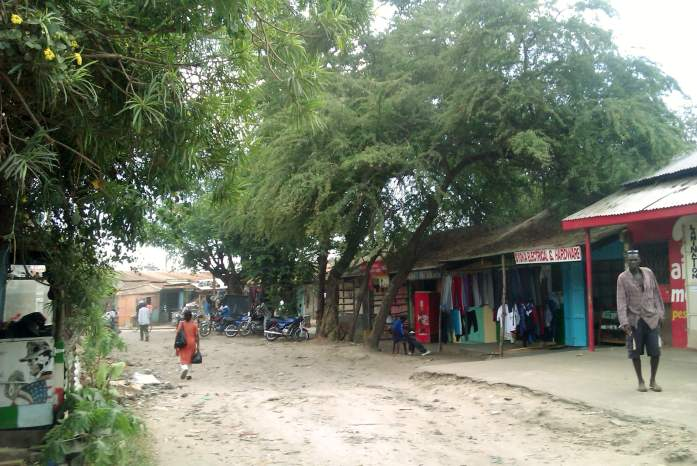 Callecitas de Malindi, Kenia, África, 2012
