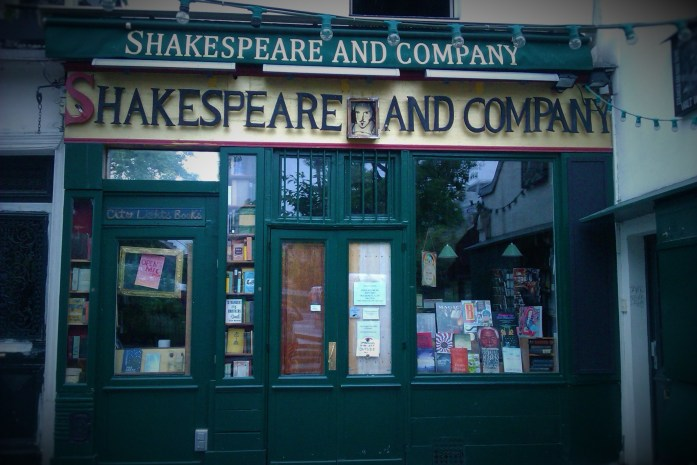 Librería Shakespeare and Company, París, julio 2013
