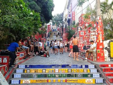 Escalera de Selarón, Rio de Janeiro, Brasil 2014