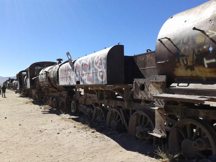 Vagones oxidados, Cementerio de trenes, Uyuni, Bolivia 2014 | rominitaviajera.com