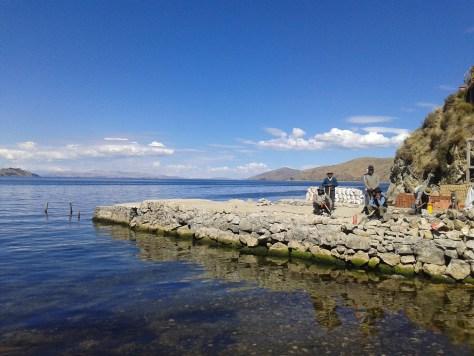 Entrando por el Lago Titicaca a la Isla del Sol, Bolivia, 2014 | rominitaviajera.com