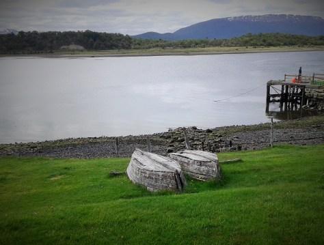 Canal Beagle desde la Estancia Harberton en Tierra del Fuego