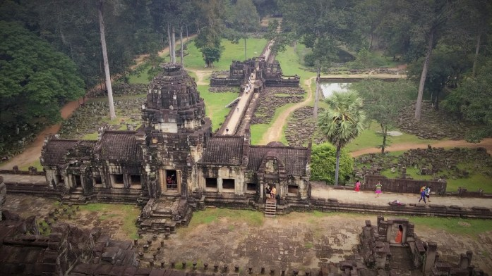 Baphuon en Angkor Thom, Camboya, Octubre 2015