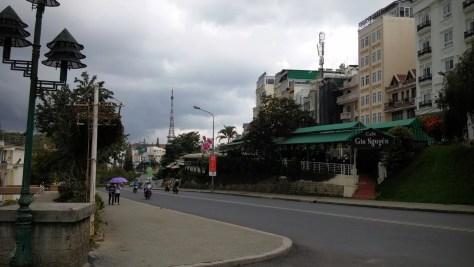 Centro de la ciudad, Dalat, Vietnam, 2015