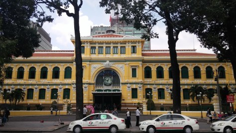 Oficina de Correos, Ho Chi Minh, Vietnam, viaje 2015