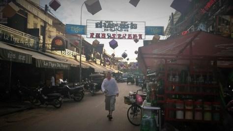 Pub Street Siem Reap, Camboya, Octubre 2015